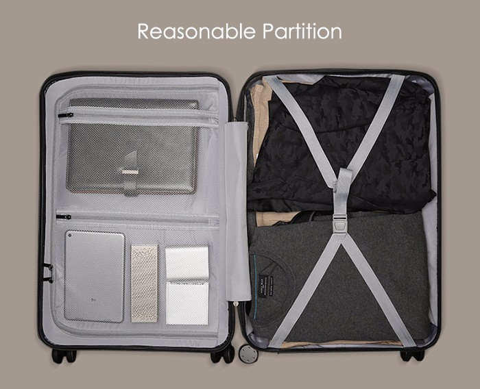 Original Xiaomi 90 Minutes Spinner Wheel Luggage Suitcase 20 Inch for 15 Inch Laptop SPSR (2)