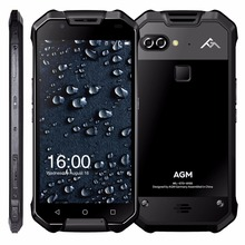 "AGM X2 IP68 Wasserdichte Handy 5,5 ""6 GB RAM 64 GB/128 GB ROM Qualcomm MSM8976SG Octa-core Dual 12MP 6000 mAh NFC smartphone"