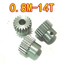 0.8M-14 Прорезыватели диаметр: 12,8 мм Т выпуклая Шестерня из высокоуглеродистой стали 6 уровень модель микромоторы diy небольшой модуль шестерни- отверстие d: 5 мм