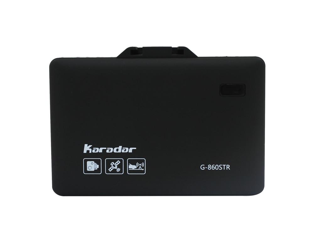 2019 KARADAR GPS combiné Radar détecteur G-860STR Anti Radar voiture Radar détecteur Laser Radar détecteur voix Strelka voiture-détecteur - 4