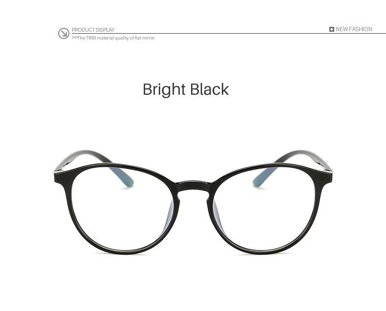 Men's Eyewear Frames Long Keeper 2018 Women Retro Eyeglasses Frame Female Eye Glasses Vintage Optical Glasses Oval Transparent Lens Red Frame Am11757