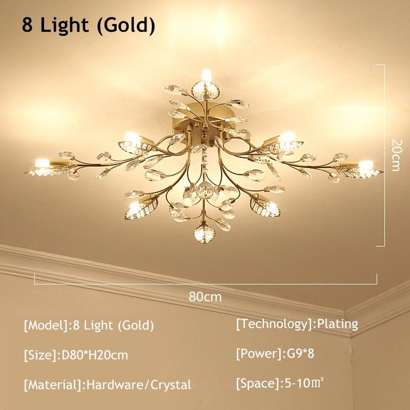 8 light gold