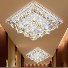 Современный светодиодный потолочный светильник, холодный белый 12 Вт, Домашний Светильник, роскошное украшение для спальни, Фиолетовый Кристалл, скрытый установочный светильник ing