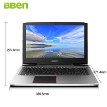 BBEN G16 15.6″Gaming Laptop Windows10 1920*1080FHD Intel I7-7700HQ Quad Core NVIDIA GTX1060 DDR5 16G RAM 1T OR 2T HDD Wifi