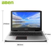 BBEN G16 15 6 Gaming Laptop Windows10 1920 1080FHD Intel I7 7700HQ Quad Core NVIDIA GTX1060