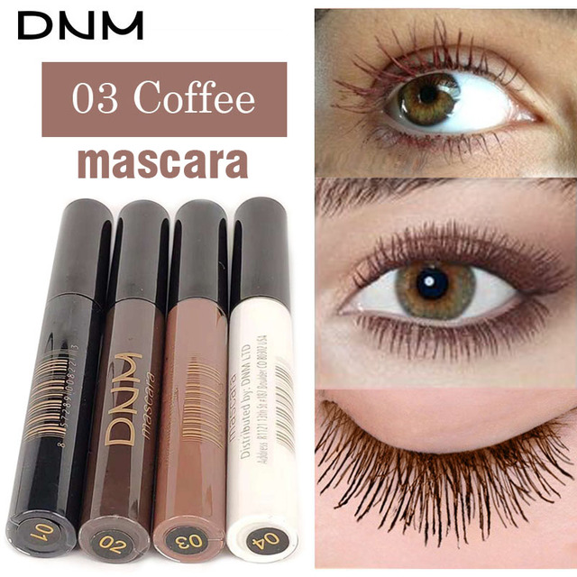 4 Colors Mascara 4D Curling Volume Eyelash Extensions Makeup Eyelash Lengthening Maskara Make Up Black/Brown/Coffee/White 4