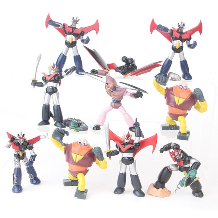NEW hot 8cm 10pcs/set Mazinger Z Koji Kabuto action figure collection toys with box