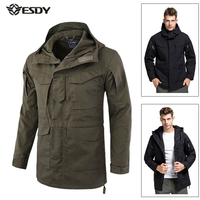 Winter Jacket Men Windbreaker Thick Waterproof Jackets Camouflage Tactical Hiking Camping Trekking Skiing Outdoor Sport Coat 16mm length stroke plastic cap pneumatic shock absorber
