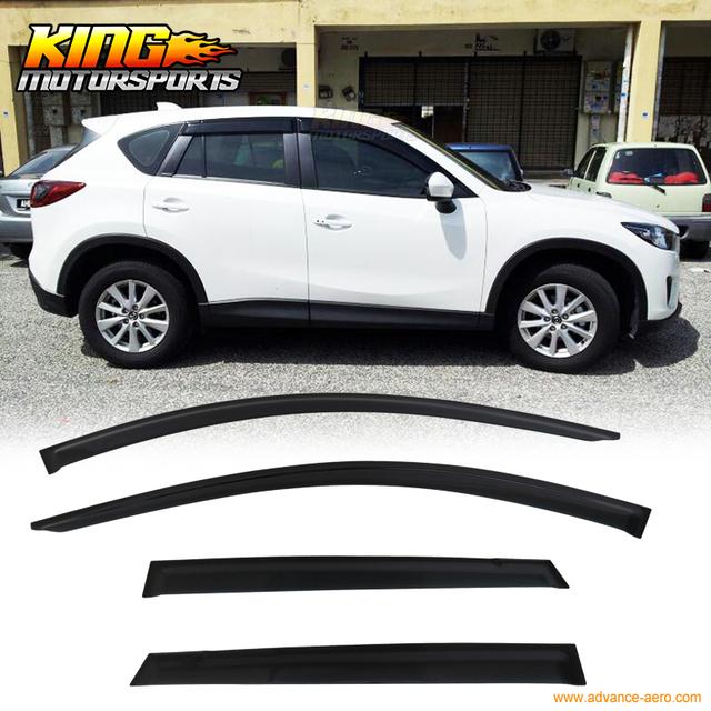 Para 2013-2016 Mazda CX-5 Viseiras Da Janela Chuva Sombra Ventilação Resistente AOS RAIOS UV 4 PCS