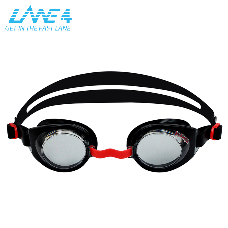 LANE4 Junior Optical Swim Goggle K712 Customized Corrective Lenses Triathlon UV Protection for Children #71295 ...