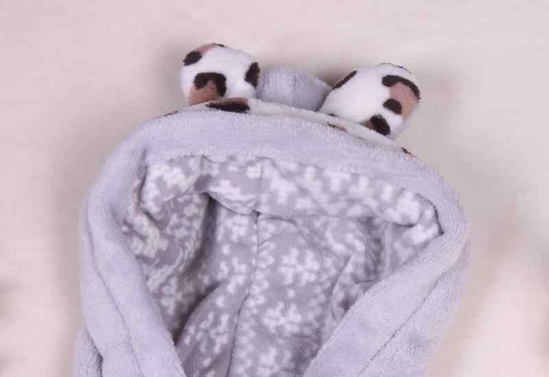 Atacado e varejo de roupas de lã colete urso bonito crianças colete com capuz