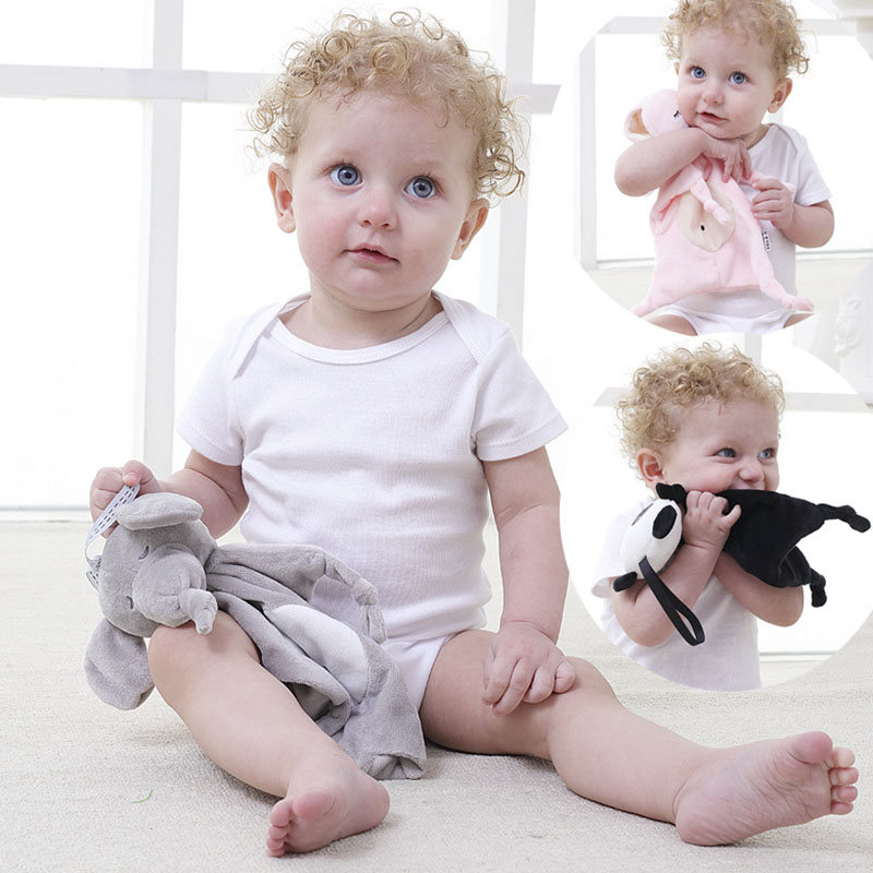 Baby Toys Newborn Soothing Sleep Towel Toys Stuffed Animal Infant Doll Kids Child Gift Soft Soothe Towel Educational Plush