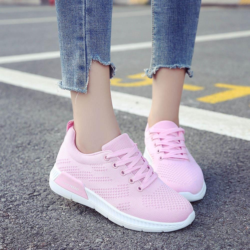 Unparteiisch Mode Turnschuhe Für Frauen Trainer Plattform Schuhe Weiße Turnschuhe Keil Air Mesh Atmungsaktive Damen Casual Schuhe Zapatillas Mujer Um Eine Reibungslose üBertragung Zu GewäHrleisten Schuhe