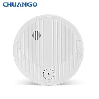 цена на Wireless Alarm Security Fire Detector Home Security Sensor for Chuango  Alarm System