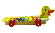 8 notizen ente tiere holz xylophon toys musikinstrumente für kinder pädagogisches baby entwicklung toys
