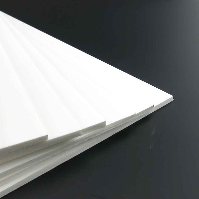 pvc foam sheet model making materials diy handmade for architecture