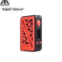 100 Original Vapor Storm Subverter 200w Box Mod VW TC Mod Electronic Cigarette Fit Dual 18650