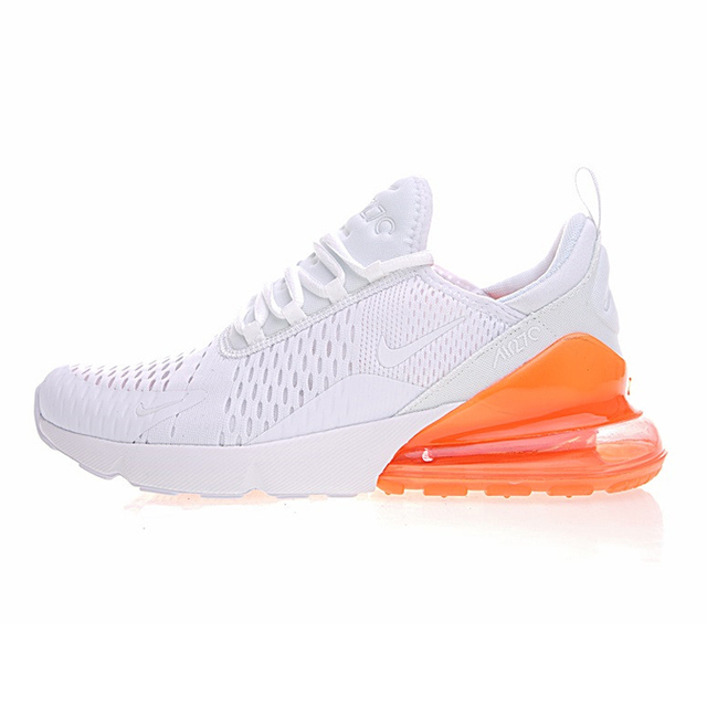 NIKE AIR MAX 270 Women's Running Shoes, White Pink, Breathable Lightweight Non slip Wear Resistance AH6789 700 AH6789 600