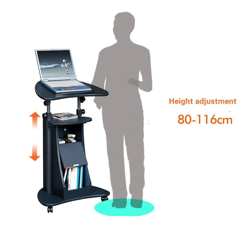 scarlett standing computer desk mobile vertical desk conference podium lifting bedside table on alibaba group