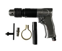 Practical High Speed Pistol Type Pneumatic Gun Drill Reversible Air Drill Wrench Connector Tool Floor Wall Hole Drilling