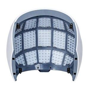 Image 5 - Горячая Распродажа, 4 цвета, красный/синий/фиолетовый/ИК PDT светодиодный светильник, фотодинамическая маска для лица, СВЕТОДИОДНЫЙ Прибор для ухода за кожей, омоложения, фотонная терапия