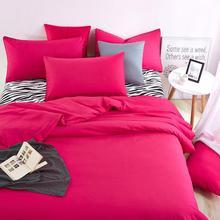 Hoja de Cama Juegos de cama Casa de Verano Cebra y Rojo de la Rosa Duver Cubierta Del Edredón Funda de Almohada Suave y Cómodo Rey Reina Completa Twin