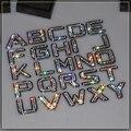 De lujo de Bling del diamante Cristalino del metal letras DIY 3D del coche de Metal pegatinas Accesorios de Decoración de coche para vw golf 4 5 6/BMW 1 3 serie