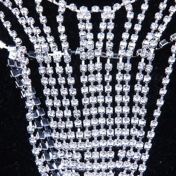 Underwear Sexy Bikini Rhinestone Crystal Chain9