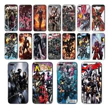 Marvel X-Force soft black silicone phone case for iphone 7 8 6 6s plus x xr xs max 5s se 10 Superhero wolverine DEADPOOL cover 6 inch super deadpool x figure mezco deadpool x men wolverine x man