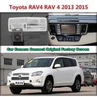 For Toyota RAV4 RAV 4 2013 2015 Car Camera Connected Original Screen Monitor and Rearview Backup Camera Original car screen