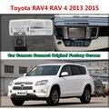 Para Toyota RAV4 RAV 4 2013 2015 Câmera Do Carro Ligado Tela Original tela de Monitor e Câmera de Segurança Retrovisor do carro Original
