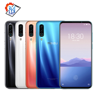 Original Meizu 16Xs Mobile Phone 6.2 6GB RAM 64GB ROM Snapdragon 675 Octa Core 48MP Triple Lens Rear Camera 4000mAh Smartphone