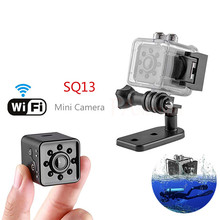 SQ13 WIFI small mini Camera cam HD 1080P video Sensor Night Vision Camera Micro Cameras DVR Motion Recorder Camcorder все цены
