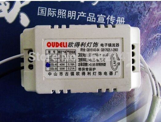 NEW Circular tube AC 220V 50Hz 40w Fluorescent Lamps Bulb Electronic Ballast Suitable for CeilingH tube lamp