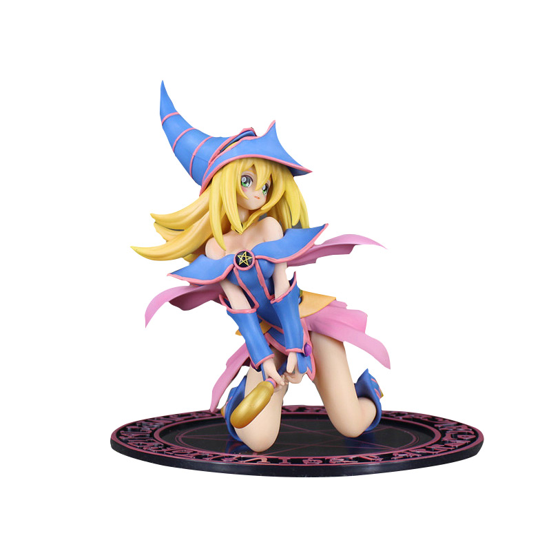 16.5CM Japanese Anime Dark Magician Girl Boxed PVC Action Figure Collection Model Doll Toy Gift box free16.5CM Japanese Anime Dark Magician Girl Boxed PVC Action Figure Collection Model Doll Toy Gift box free