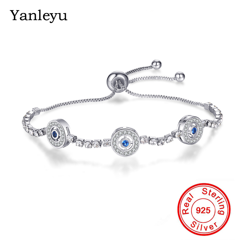 Trendy Women//Ladies Jewellery Charm Bangle Soild 925Silver Bracelet Xmas Gift