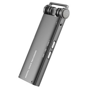 Image 3 - Профессиональный цифровой аудио диктофон с голосовой активацией, 16 ГБ, USB ручка, 100 часов записи без остановки, PCM 1536 кбит/с, поддержка TF карты
