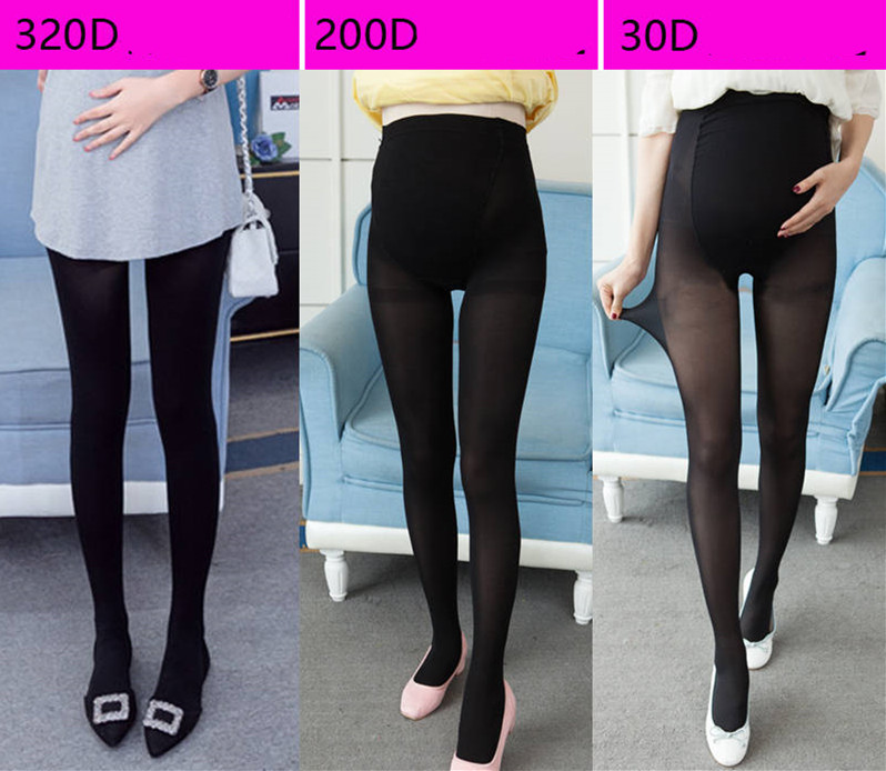 HTB1m23tqDqWBKNjSZFxq6ApLpXab - 320D Women Pregnant Socks Maternity Hosiery Solid Stockings Tights Pantyhose Spring and autumn pregnant women stockings