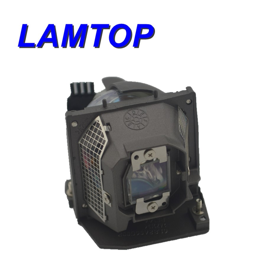 Compatible Lamtop Projector lamp with cage 310-6747 725-10003   fit for   3400MP replacement projector lamp 310 6747 for dell 3400mp