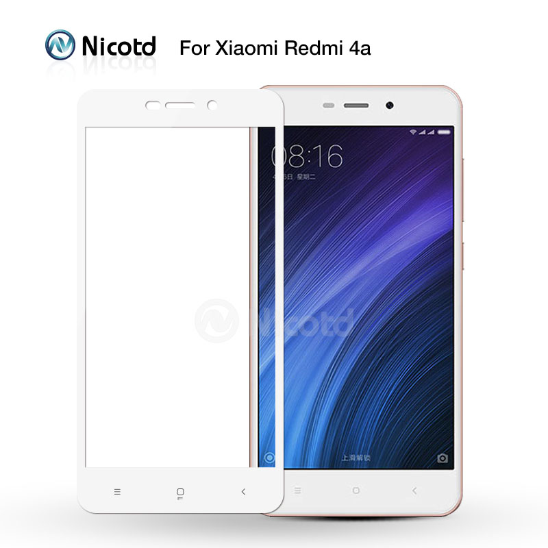 Full Cover Tempered Glass For Xiaomi Redmi 4X 4A 3s For Redmi Note 5A prime 5plus 3X Note 4 3 4X Screen Protector Toughened Film 3