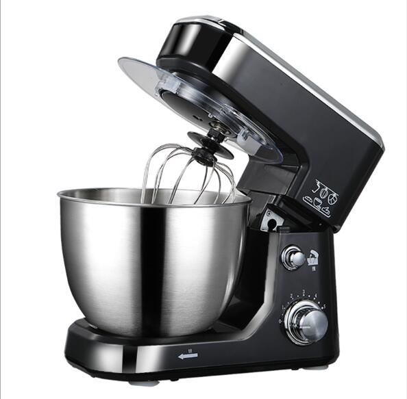 Chef de cozinha home cooking 5L elétrica batedeira comida, bolo de massa de pão misturador máquina 1000 W 220 V