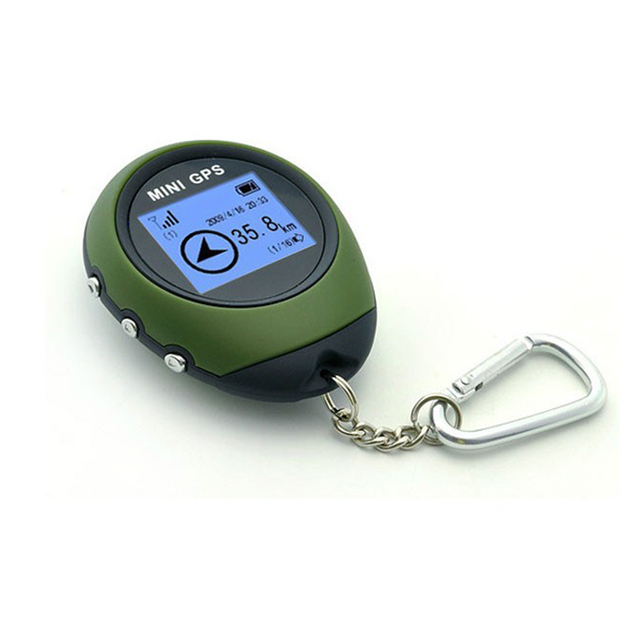 Podofo Mini Handheld GPS Navigation Receiver Location Finder Electronic Compass 4