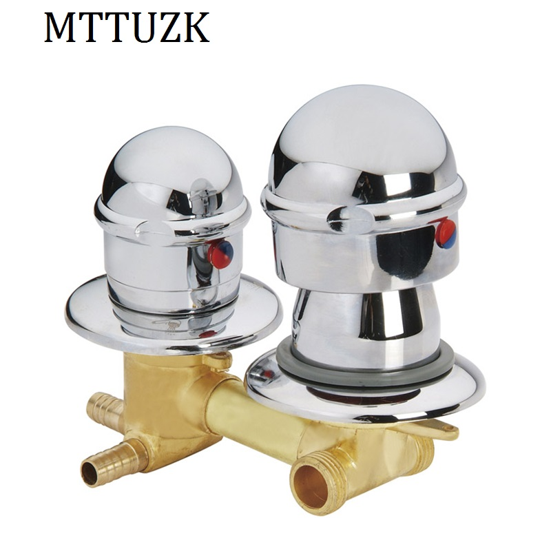 Free shipping Chrome Brass Bathroom Faucet basin faucet mixer tap with Hot cold water deck mounted