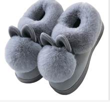 Women Boots Female winter boots Warmer Plush Fur Suede Flat Slip On Ankle Snow Boots Women's Shoes Fashion Platform gray(China)