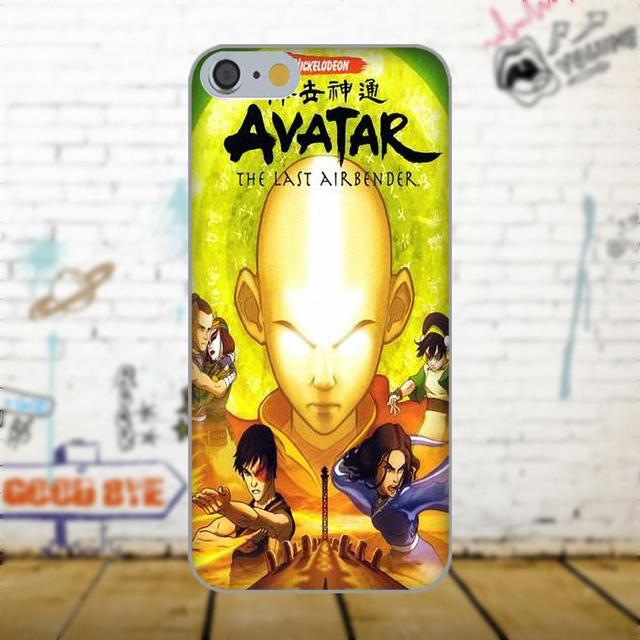 Oedmeb Avatar Aang The Last Airbender For Apple iPhone 4 4S 5 5C 5S SE 6 6S 7 8 Plus X For LG G3 G4 G5 G6 K4 K7 K8 K10 V10 V20