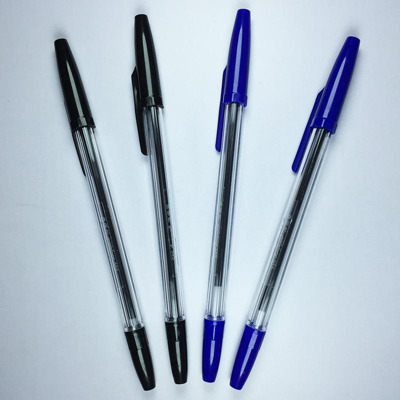 4PCS Classic Biro Multi Use Bic Cristal Black Blue 0.7mm Ink Ballpoint Pen  Ball Pen