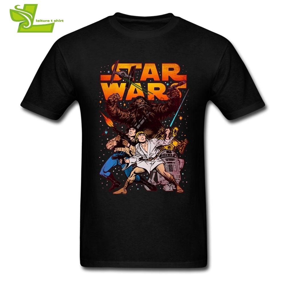 159 Best Star Wars T Shirts Images On Pinterest: Battle Pose Star Wars T Shirt Male Latest Unique Camisetas
