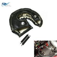 цена на T3 Lava Turbo Blanket Heat Shield Cover Turbocharger Blanket Cover T2 T25 T28 GT30 GT35 TD05 Turbine Housing Heat Shield Blacket