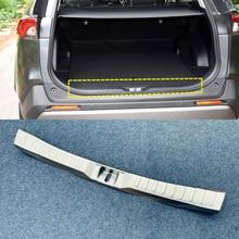 Voor TOYOTA RAV4 2019 2020 Rvs Auto Styling binnenkant Achterbumper Protector Instaplijsten Plaat Cover Trim 1 stuks