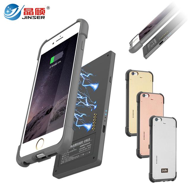 Caso carregador de bateria de backup externo portátil para iphone 6 6 s 6 além disso removível power bank para iphone 6 plus com código de rastreamento